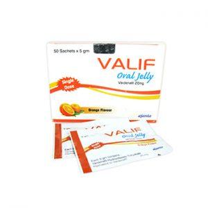 Buy Valif Oral Jelly 20mg online